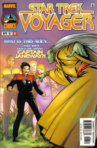 Star Trek Voyager A1 Comix Comic Book Database