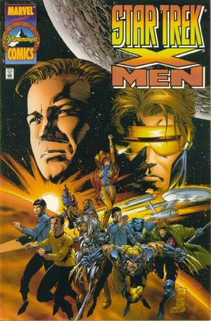 Star-Trek X-Men Comic Book Back Issues of Superheroes by A1Comix