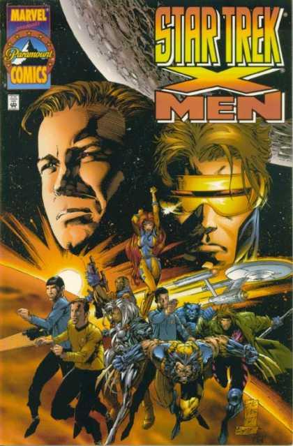 Star-Trek X-Men Comic Book Back Issues by A1 Comix