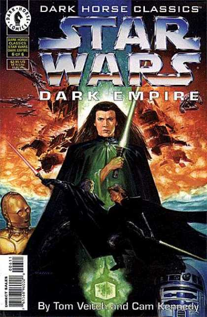 Star Wars Dark Empire A1 Comix Comic Book Database