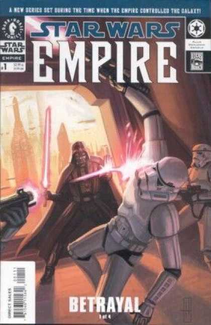 Star Wars Empire Comic Book Back Issues by A1 Comix