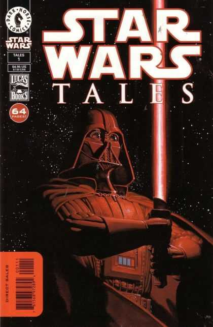 Star Wars Tales Comic Book Back Issues by A1 Comix