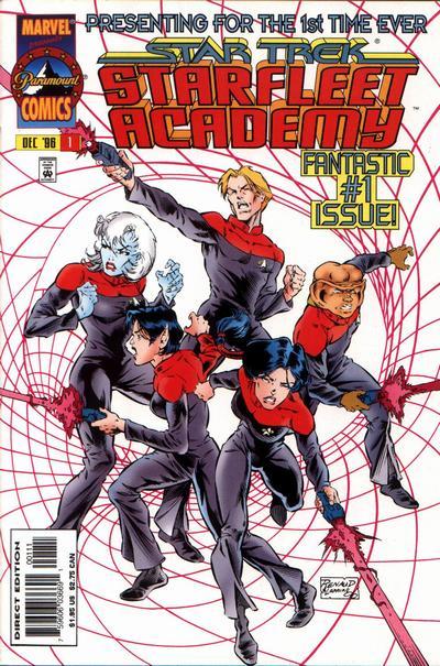 Star Trek Starfleet Academy Comic Book Back Issues by A1 Comix