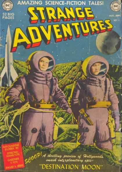 Strange Adventures Comic Book Back Issues by A1 Comix