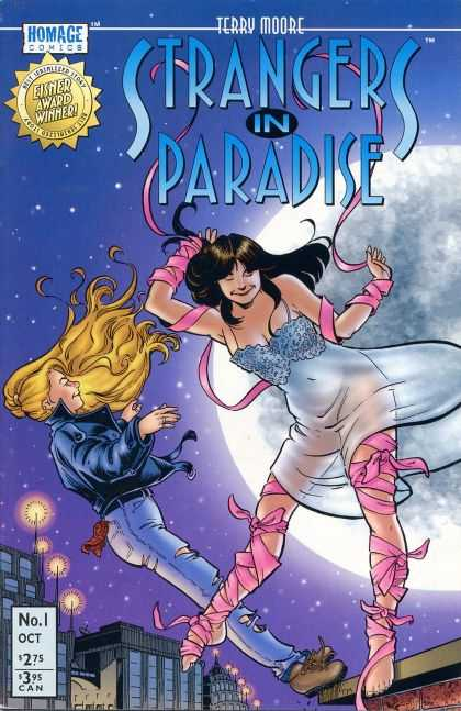 Strangers In Paradise Comic Book Back Issues by A1 Comix