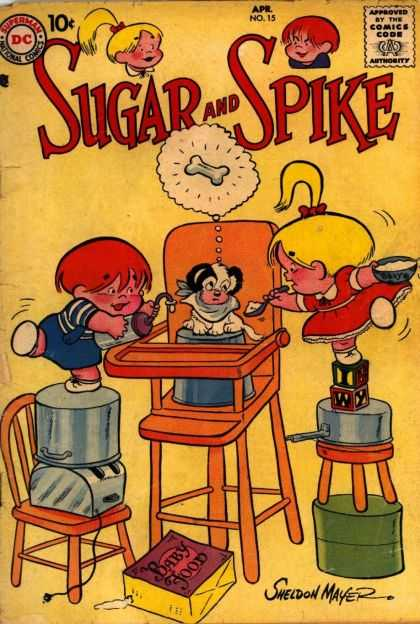 Sugar and Spike A1 Comix Comic Book Database