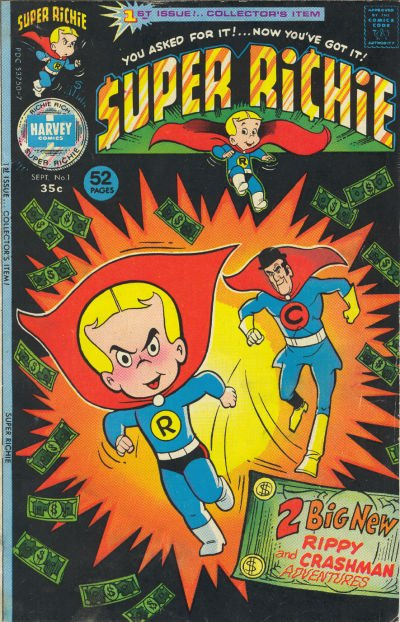 Super Richie Comic Book Back Issues by A1 Comix