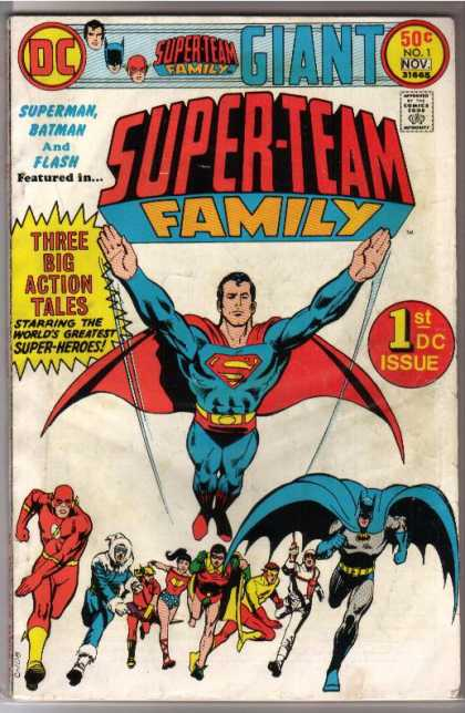 Super-Team Family Comic Book Back Issues of Superheroes by A1Comix