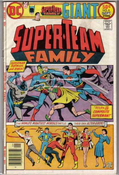 Super-Team Family A1 Comix Comic Book Database