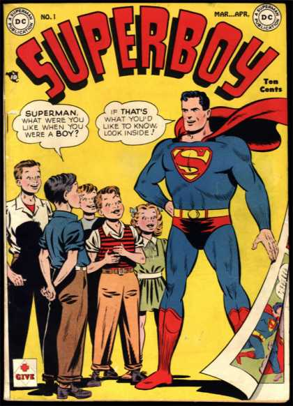 Superboy Comic Book Back Issues by A1 Comix