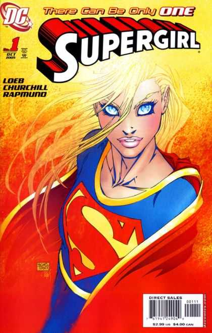 Supergirl 2005 Comic Book Back Issues by A1 Comix
