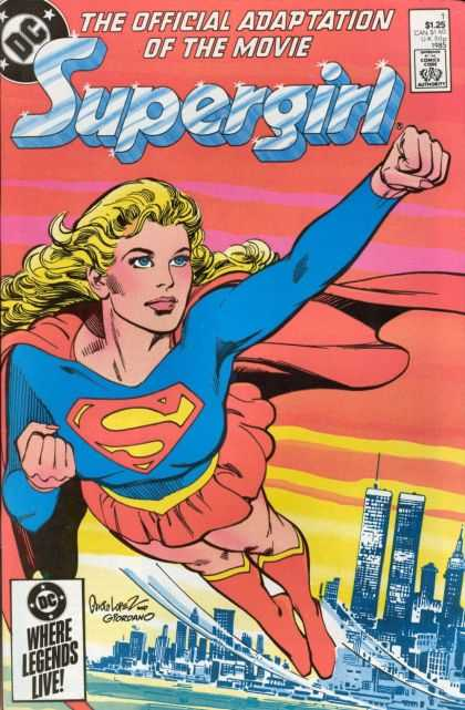 Supergirl Movie Special Comic Book Back Issues by A1 Comix