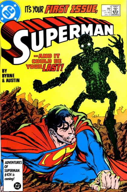 Superman Vol. 2 Comic Book Back Issues by A1 Comix