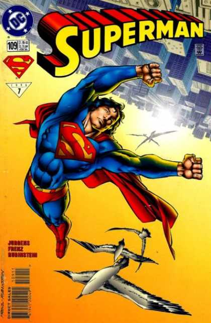 Superman Vol. 2 comic book back issue comicbook back copy