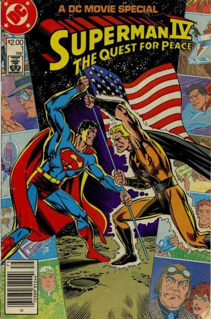 Superman IV Movie Special Comic Book Back Issues of Superheroes by A1Comix