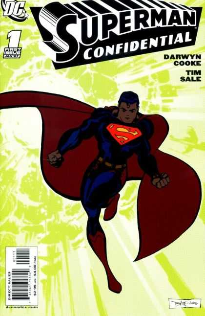 Superman Confidential Comic Book Back Issues by A1 Comix