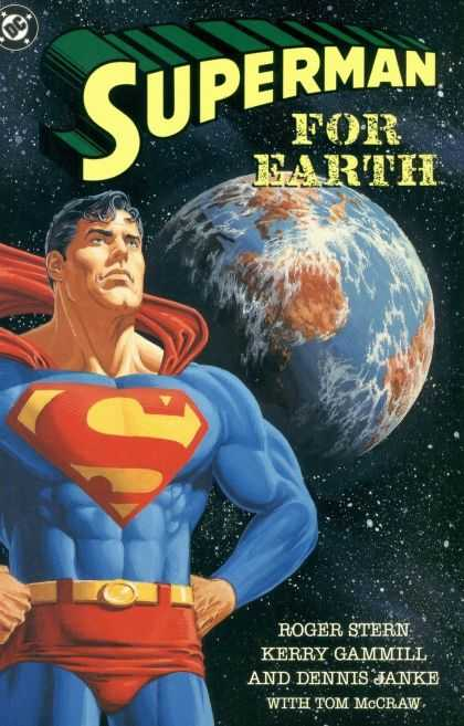 Superman For Earth Comic Book Back Issues of Superheroes by A1Comix