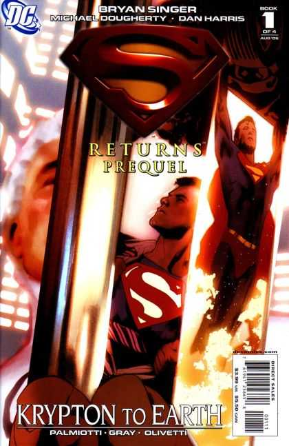 Superman Returns Prequel Comic Book Back Issues by A1 Comix