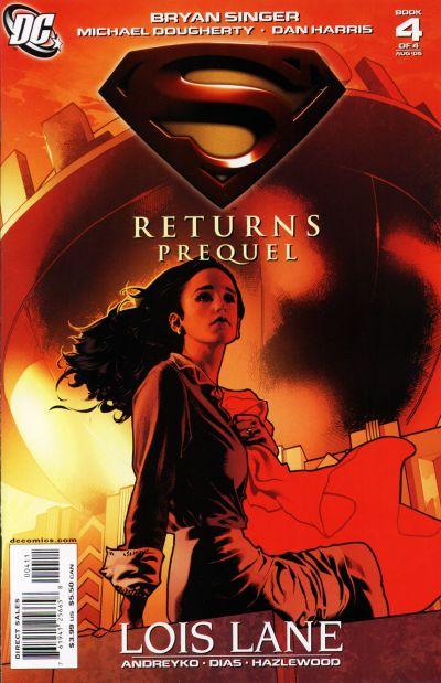 Superman Returns Prequel comic book back issue comicbook back copy