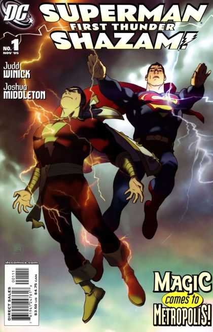 Superman/Shazam: First Thunder Comic Book Back Issues by A1 Comix