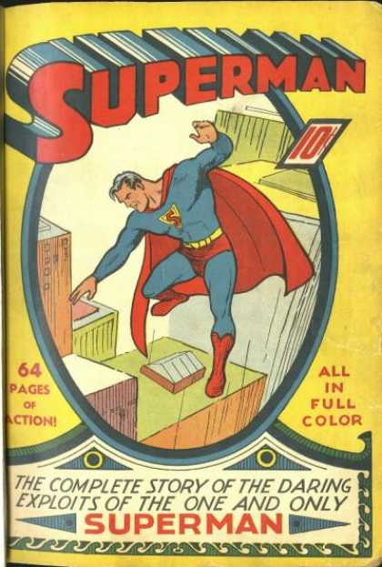 Superman Comic Book Back Issues of Superheroes by A1Comix