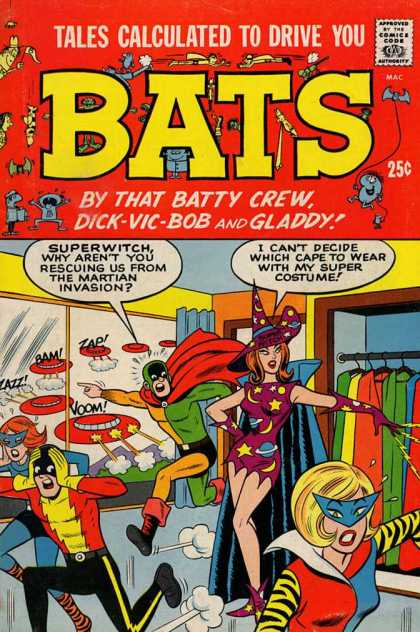 Tales Calculated to Drive You Bats Comic Book Back Issues by A1 Comix