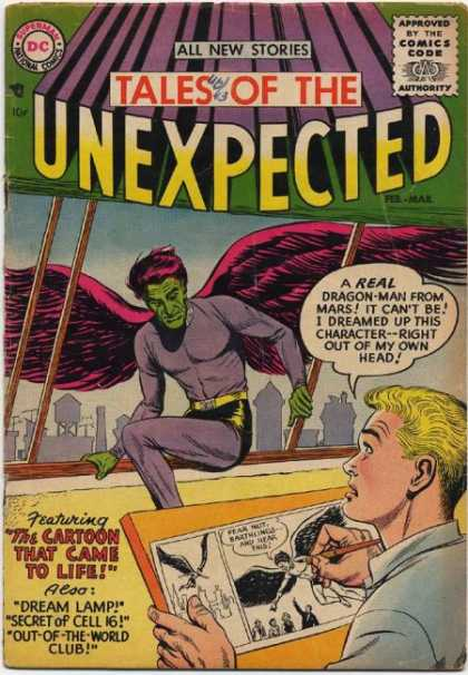 Tales of the Unexpected Comic Book Back Issues of Superheroes by A1Comix
