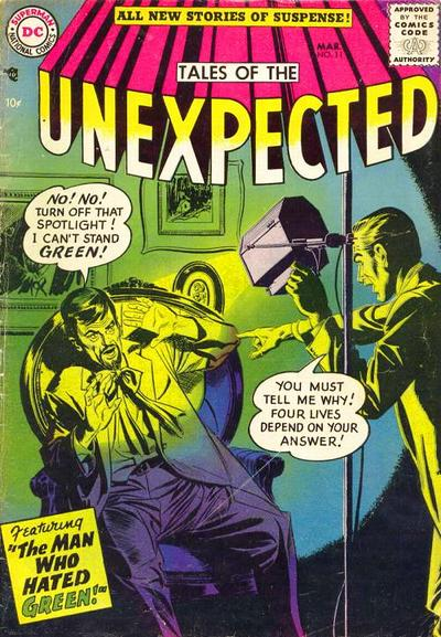 Tales of the Unexpected A1 Comix Comic Book Database