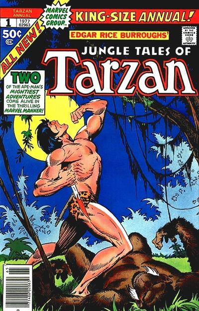 Tarzan Annual Comic Book Back Issues of Superheroes by A1Comix