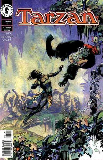 Tarzan (Dark Horse) Comic Book Back Issues by A1 Comix