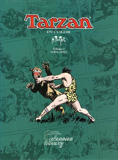 Tarzan in Color comic book back issue comicbook back copy