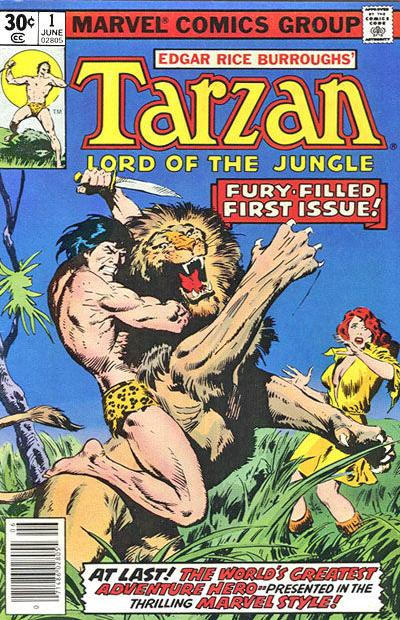 Tarzan, Lord of the Jungle Comic Book Back Issues by A1 Comix