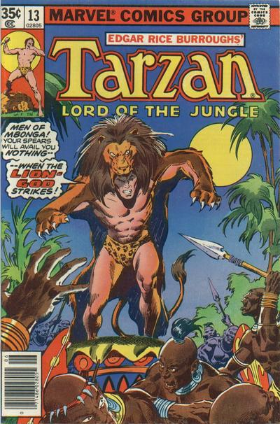 Tarzan: Lord of the Jungle A1 Comix Comic Book Database