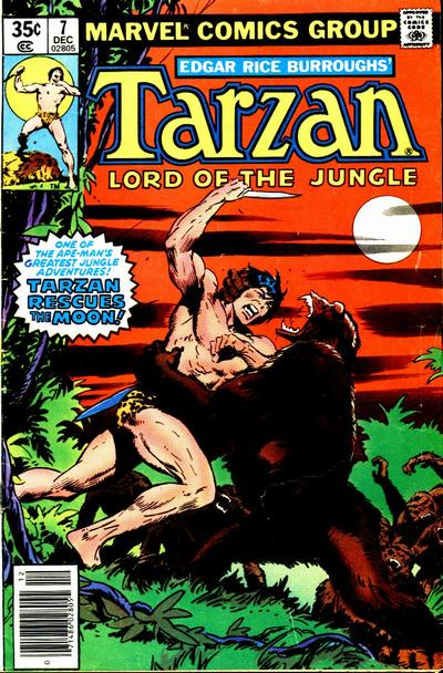 Tarzan, Lord of the Jungle A1 Comix Comic Book Database