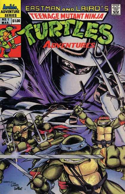 Teenage Mutant Ninja Turtles Adventures 2 Comic Book Back Issues by A1 Comix