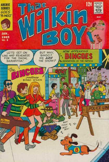 That Wilkin Boy Comic Book Back Issues by A1 Comix
