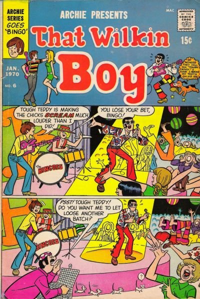 That Wilkin Boy A1 Comix Comic Book Database