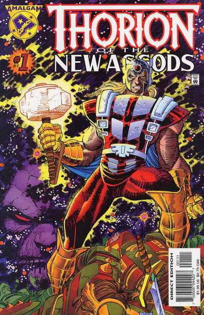 Thorion of the New Asgods Comic Book Back Issues by A1 Comix
