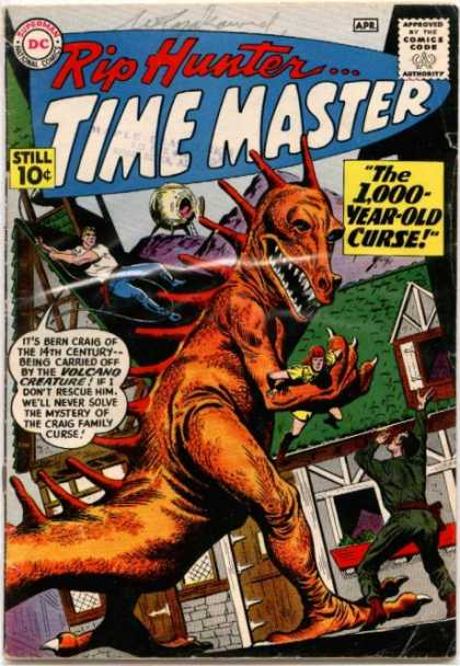 Rip Hunter: Time Master Comic Book Back Issues by A1 Comix