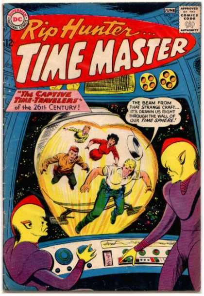 Rip Hunter: Time Master A1 Comix Comic Book Database