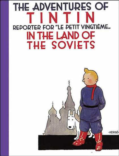 TinTin Comic Book Back Issues by A1 Comix