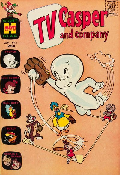 TV Casper & Company Comic Book Back Issues by A1 Comix