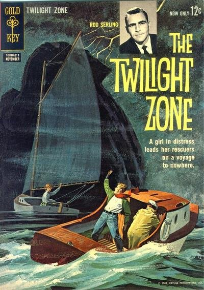 Twilight Zone Comic Book Back Issues by A1 Comix