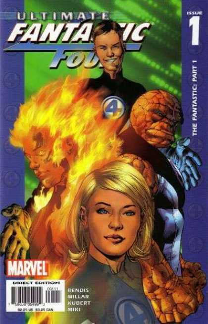 Ultimate Fantastic Four Comic Book Back Issues by A1 Comix