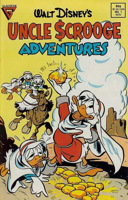 Uncle Scrooge Adventures Comic Book Back Issues by A1 Comix