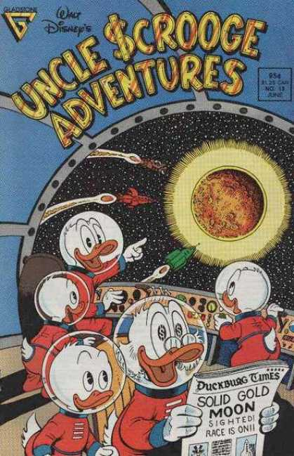 Uncle Scrooge Adventures A1 Comix Comic Book Database