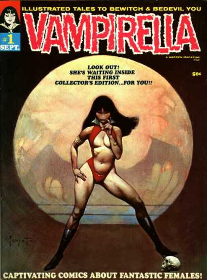 Vampirella Comic Book Back Issues by A1 Comix