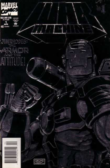 War Machine Comic Book Back Issues by A1 Comix