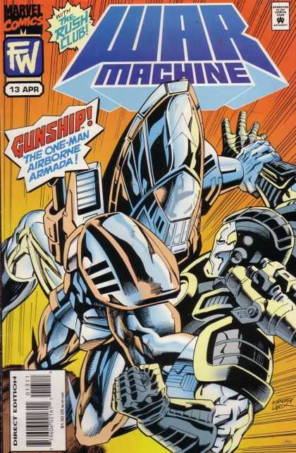 War Machine A1 Comix Comic Book Database
