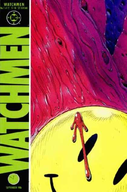 Watchmen Comic Book Back Issues by A1 Comix